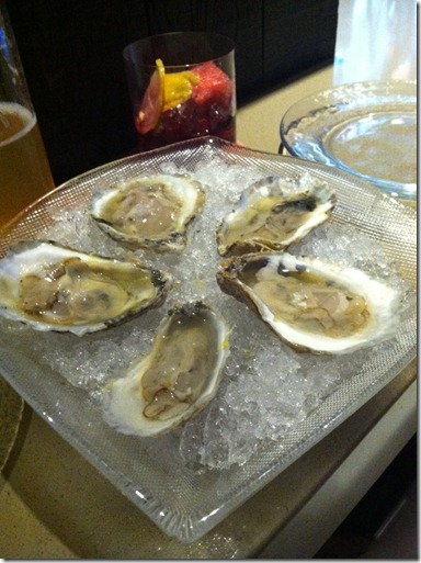 gin oysters