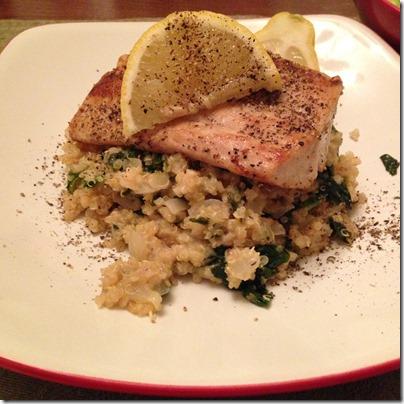 quinoa and mahi
