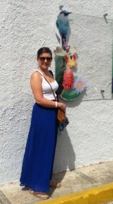 denise at el jardin